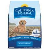 California Natural® Chicken Meal & Rice Adult Dry Dog Food 30 lbs. 111266