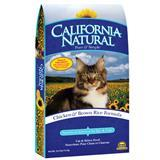 California Natural® Chicken & Brown Rice Cat and Kitten Food 111286b