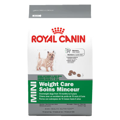 Royal Canin® MINI Weight Care 2.5 lbs.  Dog Kibble 112007b