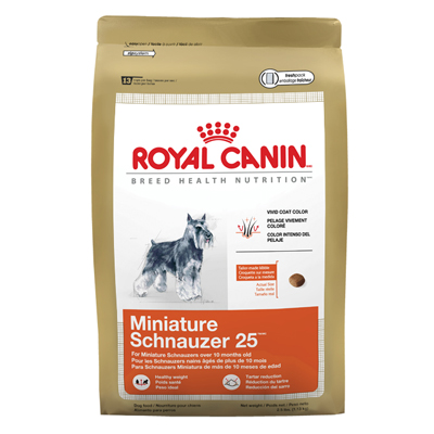 Royal Canin® Miniature Schnauzer 25™ 2.5 lbs. 112021