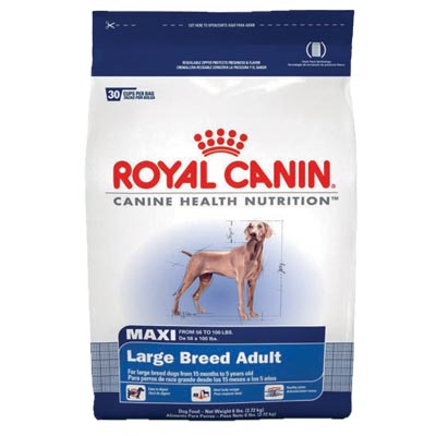 Royal Canin® MAXI Large Breed  35 lbs. Dog Kibble 112032