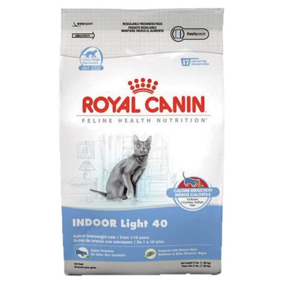 Royal Canin® INDOOR Light 40 Cat Food 112044b
