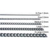 Titan® 2.0 mm Steel Chain Chokes 113b