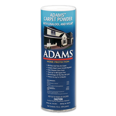 Adams Carpet Powder 16 oz. 1175 Flea powder for carpet