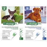 Advantage Flea Control for Dogs 1182B