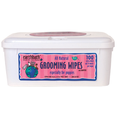 earthbath® Grooming Wipes for Puppies 132805