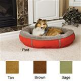 Carolina Pet Company Faux Suede Round Comfy Cup® Dog Beds 14891b