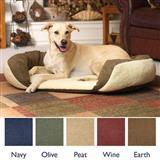 Van Winkles Beds 4 Pets Reversible Bolster Dog Beds 1613b