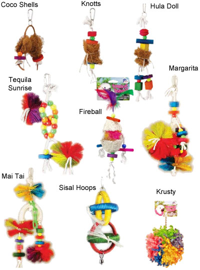 Tropical Teaser Bird Toys 17753b