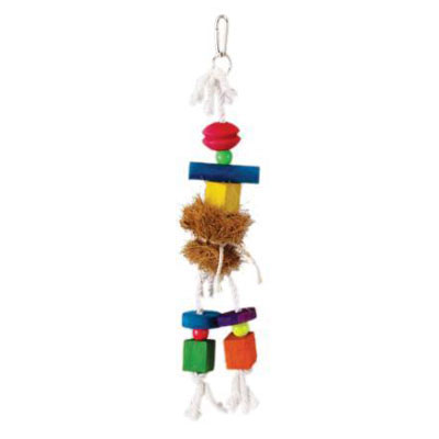 Prevue Pet® Tropical Teaser Medium Hula Doll Bird Toy 17755
