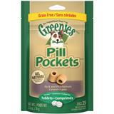 Greenies® Pill Pockets for Dogs Duck and Pea Formula for Tablets 2.6 oz. 17783