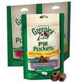 Greenies Pill Pockets for Dogs 3.2 oz. Fits Tablets 1778e