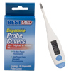 Fast Read Soft Flex Tip Thermometer and Covers 17921b