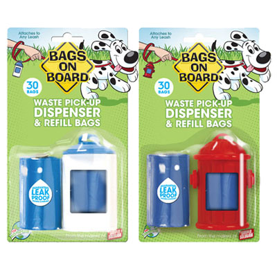 Bags On Board Dispenser, Refills 1900B