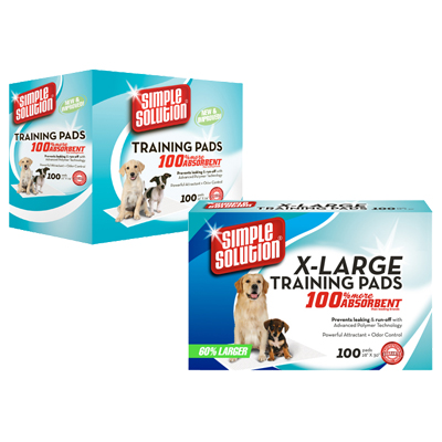 Simple Solution® Puppy Training Pads 22011b