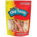 Dingo® Chip Twist Dog Treats 6 pack 25653