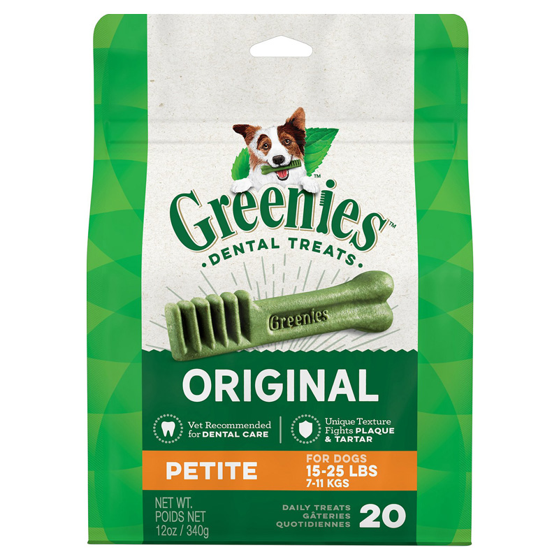 Greenies ® Chewy Texture Dog Treats 12 oz. 9611b