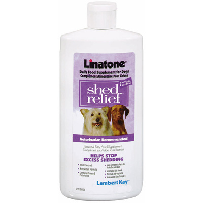 Linatone Shed Relief for Dogs 32 oz. 2576