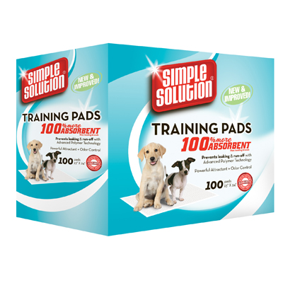 "Simple Solution® Puppy Training Pads 100 ct. 23"" x 24"" 26011"