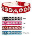 Collar Craft Star-lite Jeweled Velvet Dog Collar 2762E