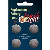 Flexi® Leash Light Batteries, 4 Pack 31595