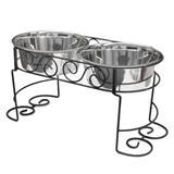 Spot® Scroll Work Double Diners 3162b