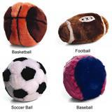 Spot® Plush Sport Ball Dog Toys 3265e