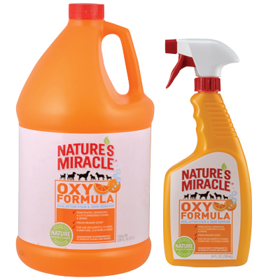 Natures Miracle Orange-Oxy Power Dual Action Stain and Odor Remover 3542B