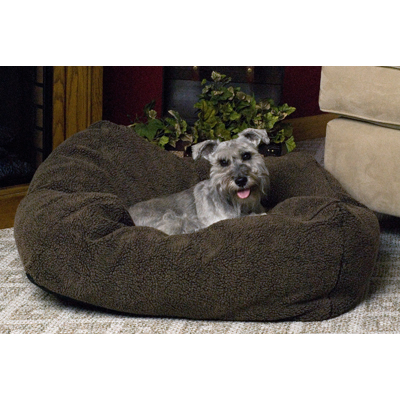 "K&H™ Cuddle Cube 24"" x 24"" Mocha Dog Bed 362442"