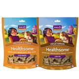HALO®  Healthsome™ Dog Biscuits 8 oz. 40100e
