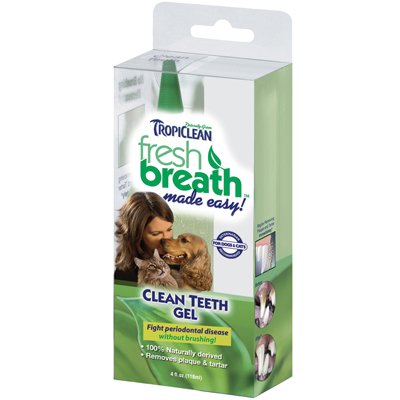 Tropiclean® Fresh Breath Clean Teeth Gel 41256