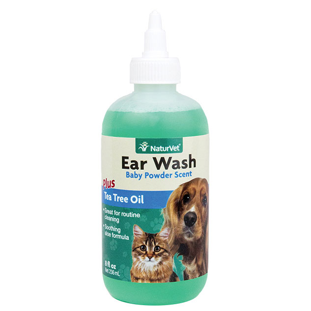 NaturVet ® Ear Wash With Tea Tree Oil 42011b