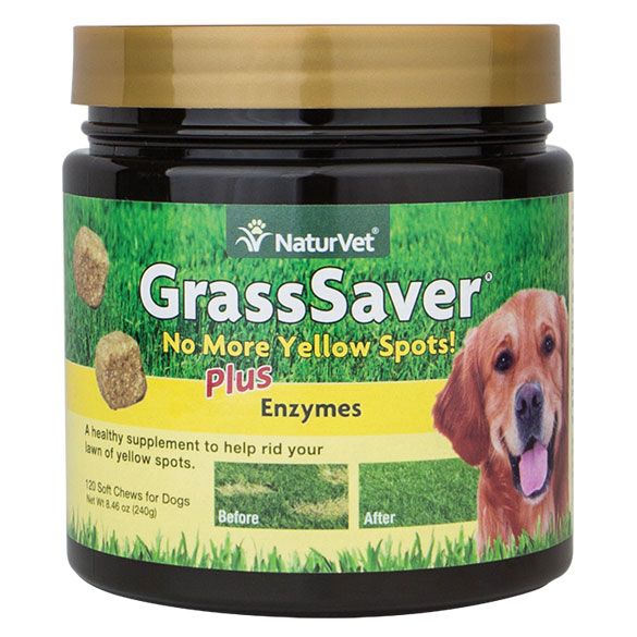 NaturVet® GrassSaver® Soft Chews Plus Enzymes 120 ct. 42913