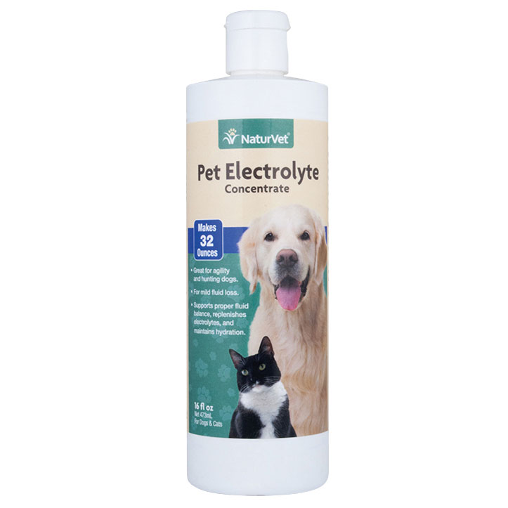NaturVet® Pet Electrolytes for Dogs and Cats 16 oz 43012