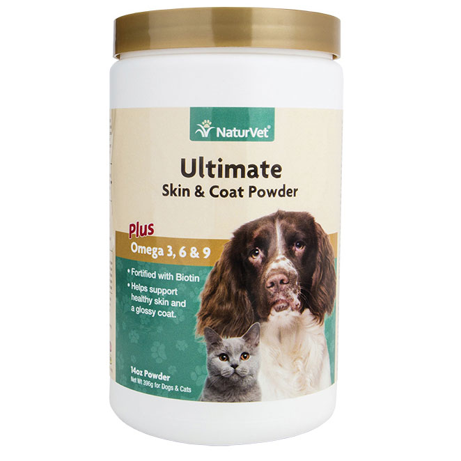 NaturVet ® Ultimate Skin and Coat Supplement Powder
