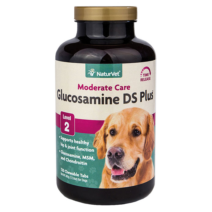 NaturVet ® Glucosamine DS with MSM Tablets 4329B