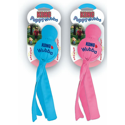 Puppy Wubba Assorted Pink and Blue 2 in.  x 8 in.