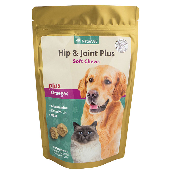 NaturVet® Naturals Hip & Joint Plus Soft Chews 45073