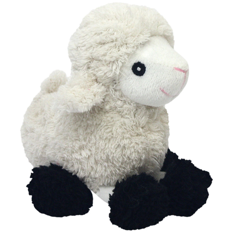 Multipet Look Who's Talking Plush Sheep Dog Toy 45359