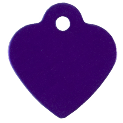 Small Purple Heart ID Tag 49691