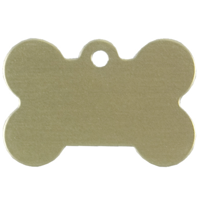 Personalized Gold Bone ID Tag 49694