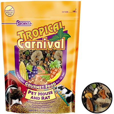 Tropical Fruit Rat  & Mouse Food 2 lb. 5202