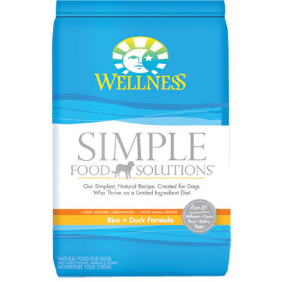 Wellness Simple Limited Ingredient Diet Duck & Oatmeal Formula 26 lbs. 54731