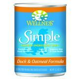 Wellness® Simple Limited Ingredient Duck & Oatmeal Formula 12.5 oz. 54740