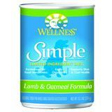Wellness® Simple Limited Ingredient Diet Lamb & Oatmeal Formula 12 oz. 54742