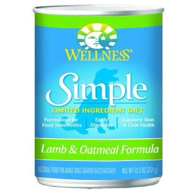 Wellness® Simple Limited Ingredient Diet Lamb & Oatmeal Formula 12 oz.