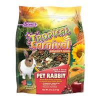 FM Browns Tropical Carnival Rabbit Food 5553b