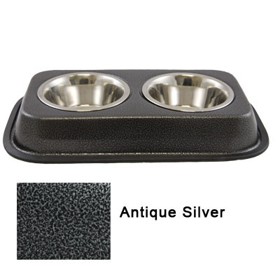 Stainless Steel Twin Diner Antique Silver 5603E