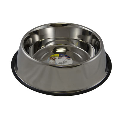 Stainless Steel  No-Tip Dish 160oz. 5606
