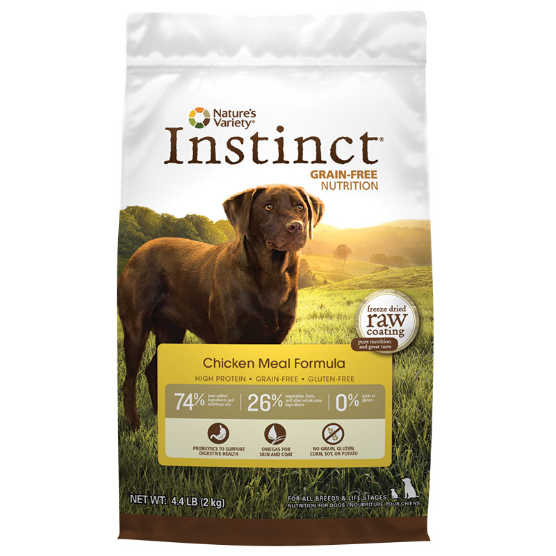 Natures Variety ® Instinct ™ Chicken Kibble Dog Food 60301B
